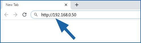 192.168.0.50 login page