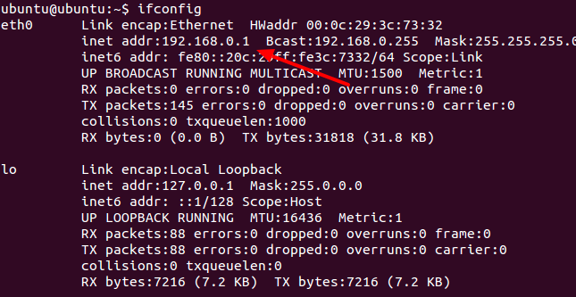 Linux IP Address